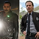 Negan and Rick From The Walking Dead