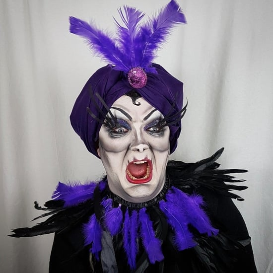 Yzma Drag Makeup Halloween
