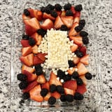 Dessert Version of Baked Feta Pasta With Fruit and Chocolate