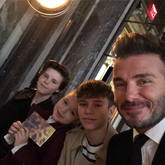 Victoria Beckham With Her Family at NYFW 2018