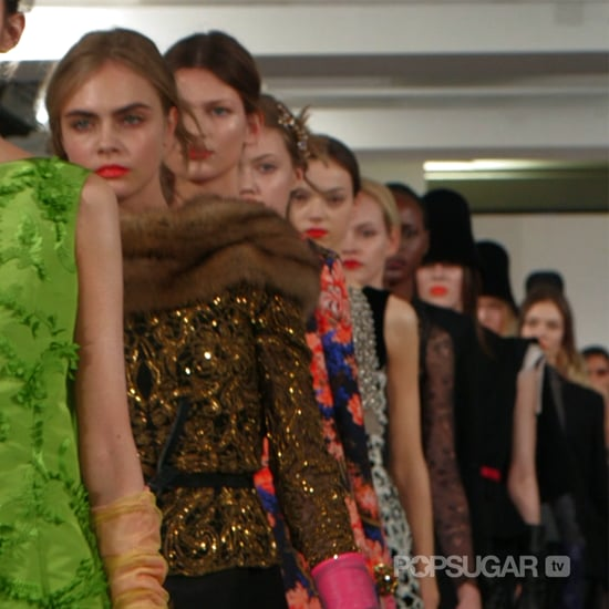 Oscar de la Renta Fall 2013 Runway (Video)