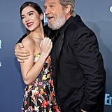Pictured: Jeff Bridges and Hailee Steinfeld