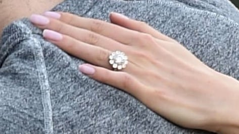 Nikki Reed Engagement Ring Pictures With Ian Somerhalder POPSUGAR
