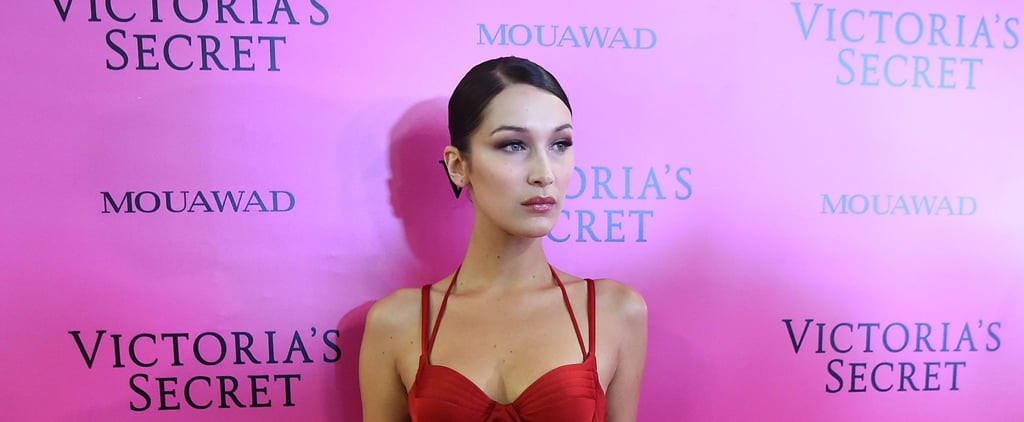 Bella Hadid Looks Like a Total Babe in Her Sexy, Red Dress at the Victoria's Secret Fashion Afterparty
