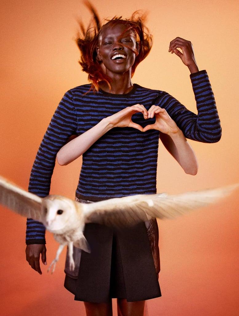 Edun's Fall campaign was shot by photographer Ryan McGinley.