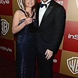 Jodie Foster and Ariel Foxman