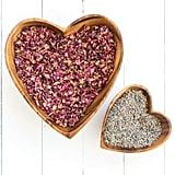 Acacia Wood Heart Bowls