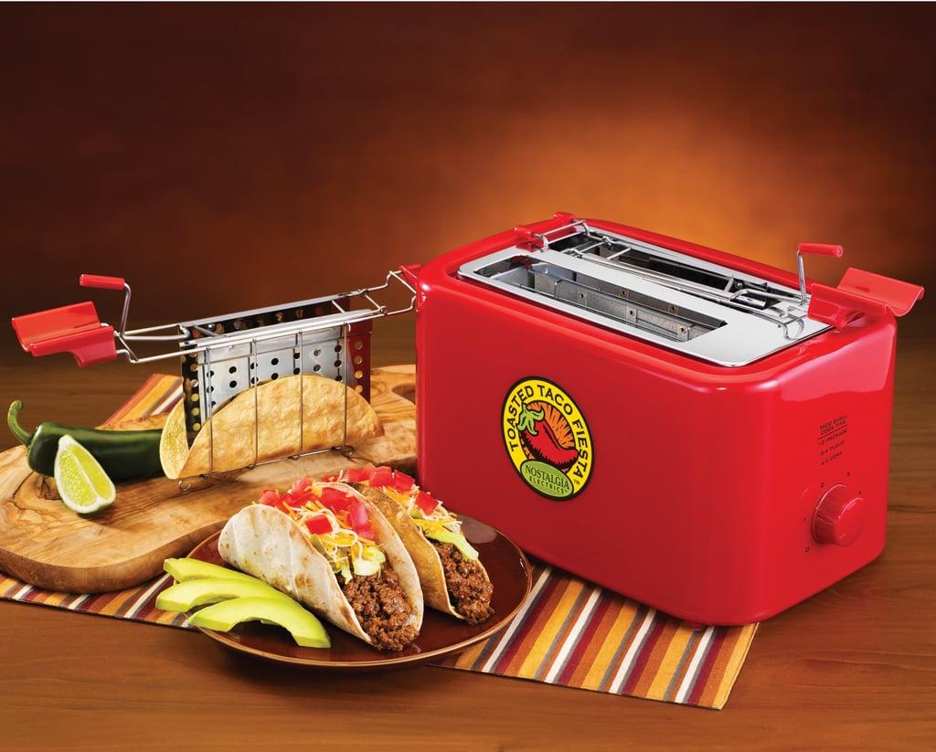 Nostalgia Electrics Fiesta Series Taco Toaster