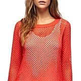 For cooler evenings, a bright red mesh-knit topper should add the perfect amount of dynamic to your off-duty ensemble. Michael Michael Kors Mesh-Knit Sweater ($55, originally $80)