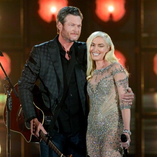 Gwen Stefani Blake Shelton at Billboard Music Awards 2016