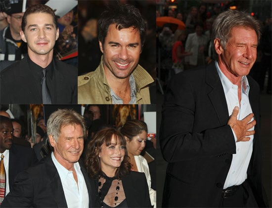 NYC Screening of Indiana Jones with Shia LaBeouf and Harrison Ford