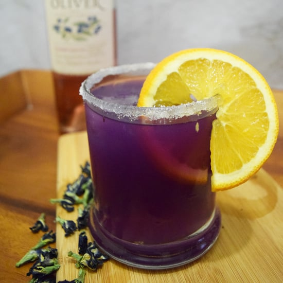 Color-Changing Butterfly Pea Flower Cocktail Recipe