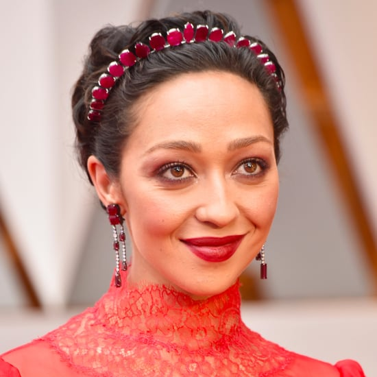 Ruth Negga's Hair and Makeup at the 2017 Oscars