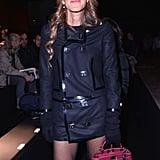 Anna Dello Russo at the Dsquared2 Men's Fashion Week show.