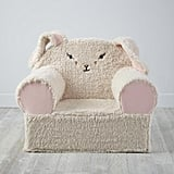 Furry Animal Bunny Nod Chair Cover