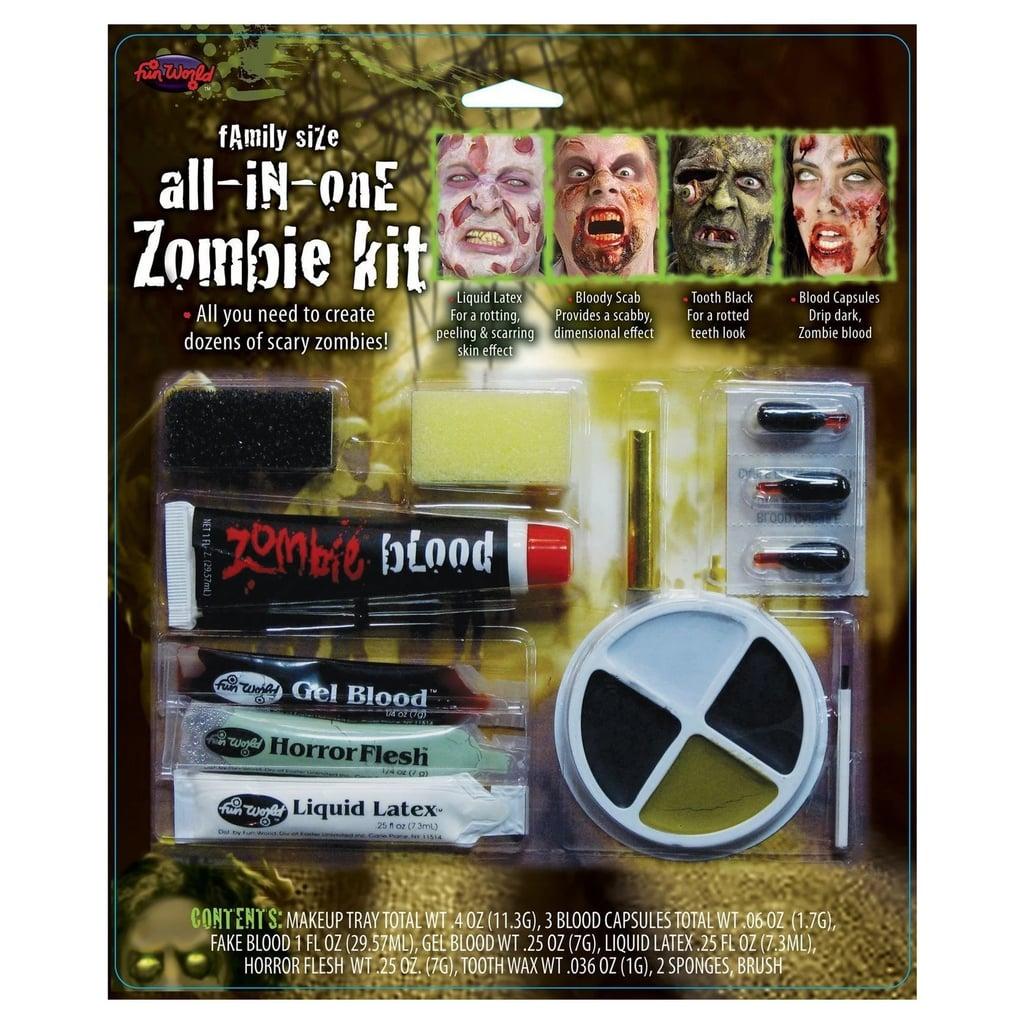 Zombie Horror Makeup Kit