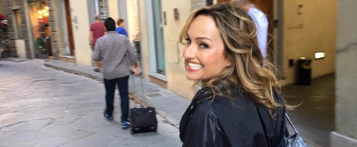 Giada De Laurentiis Eating in Italy