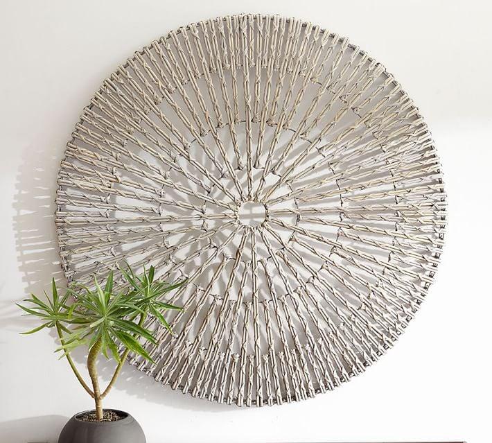 Woven Wheel Wall Art
