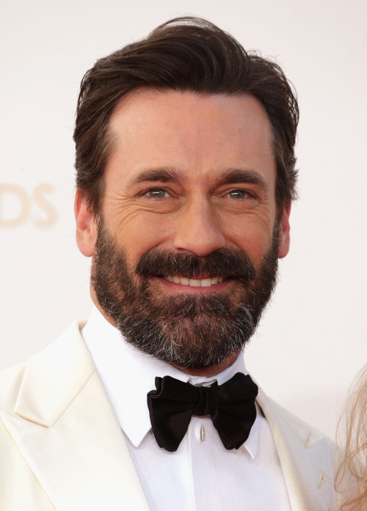 Jon Hamm Beard At Emmys 2013 Popsugar Beauty