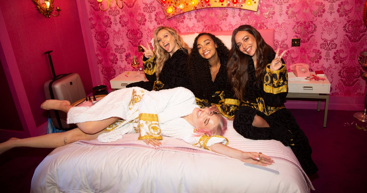 Anne-Marie and Little Mix's New Video Is Basically Bridesmaids, but With Versace Robes