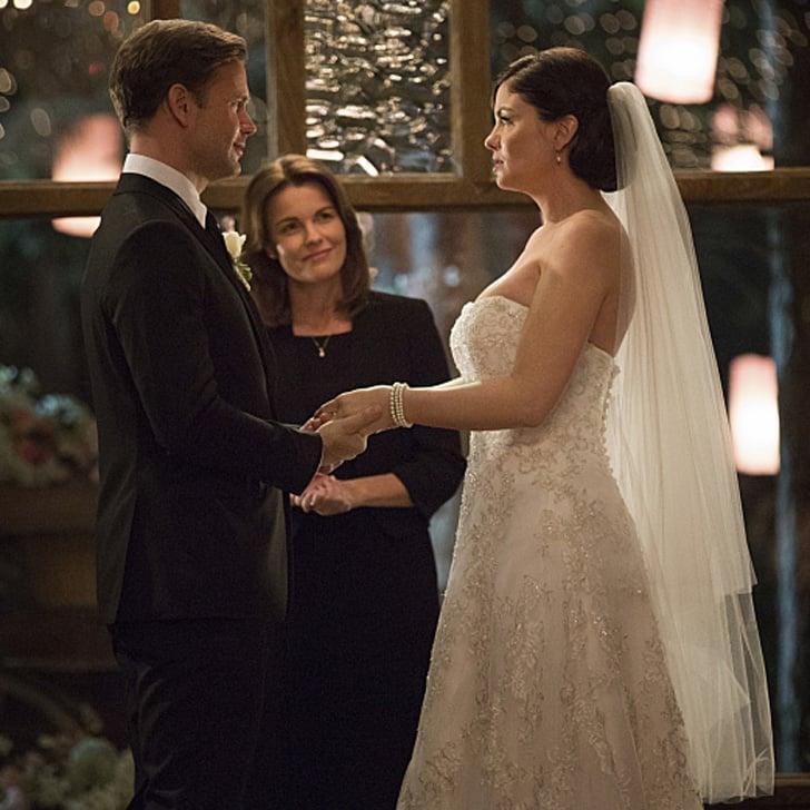 The Vampire Diaries Alaric and Jo wedding