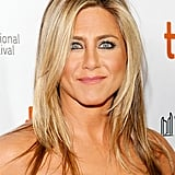 A hefty dose of black eyeliner made Jennifer Aniston's baby blues pop on the Life of Crime red carpet.