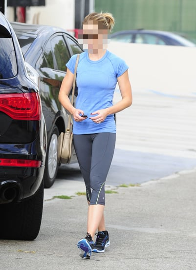 Guess Which Hollywood Actress Was Spotted After a Workout?
