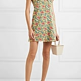 Raquel Diniz Alice Floral-Print Silk-Chiffon Mini Dress