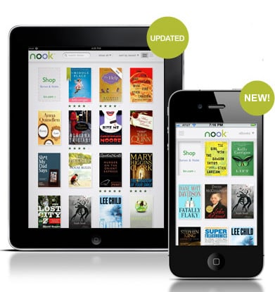 New Nook Apps For iPhone and iPad