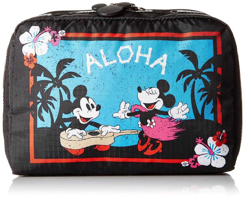 LeSportsac Classic Extra Large Rectangular Cosmetic Aloha Holiday