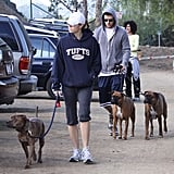 Justin and Jess Out For a Walk