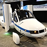 Geek Shot: The Terrafugia Transition at the NY Auto Show