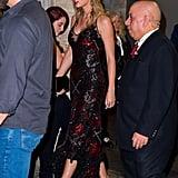 تايلور سويف ترتدي فستاناً رائعاً لحضور فيلم جو ألوين