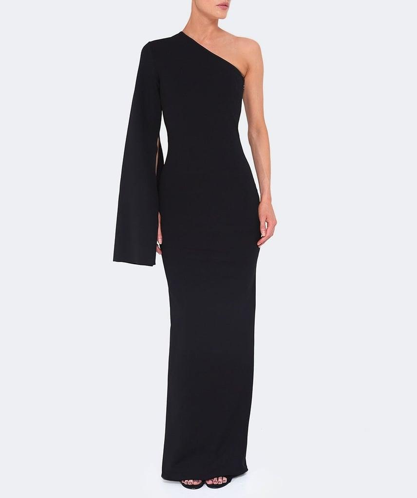Solace London One-Shoulder Maxi Dress