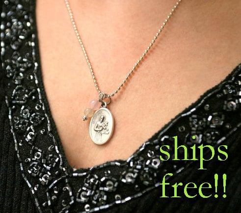 Saint of Happy Deliveries Fertility Necklace