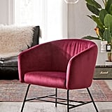 Charlie Velvet Arm Chair