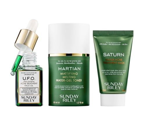Sunday Riley Space Race Fight Acne, Oil and Pores Kit