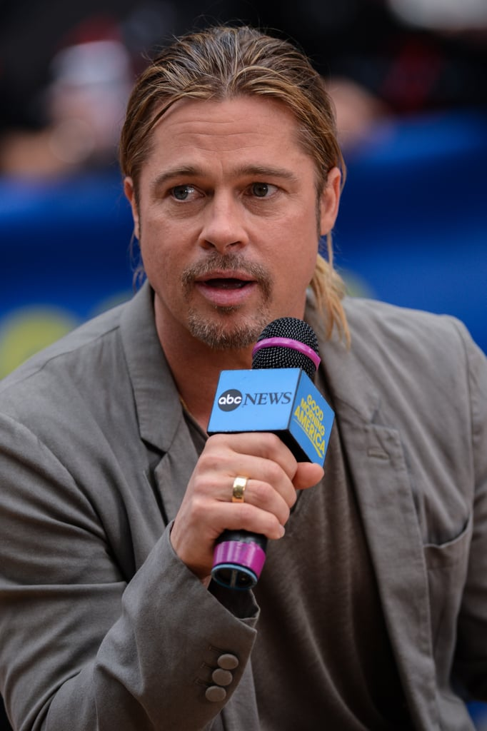 """Brad Pitt Opens Up About Angie After Surgery: """"She's Doing Great"""""""