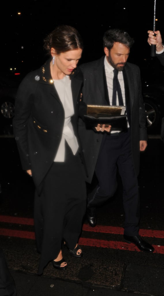 Jennifer Garner and Ben Affleck arrived at a BAFTA Awards afterparty.