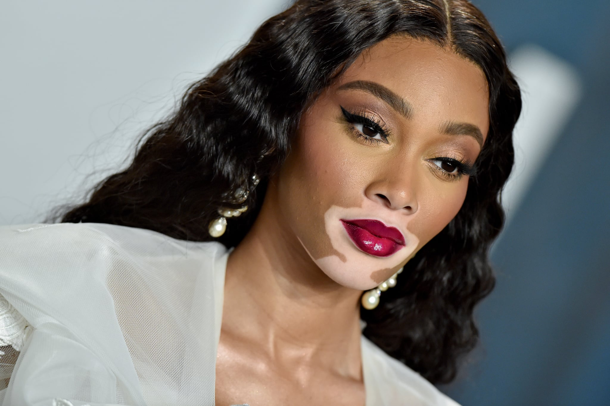 Image result for winnie harlow 2020 oscar after party