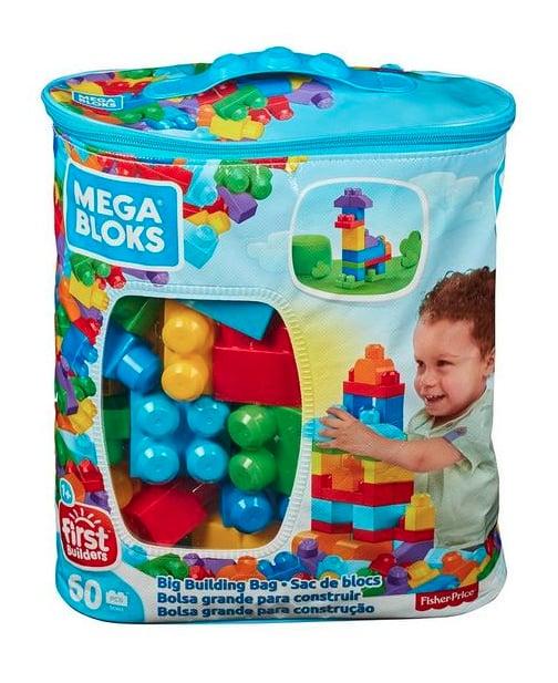 Mega Bloks 60-Piece Big Building Bag