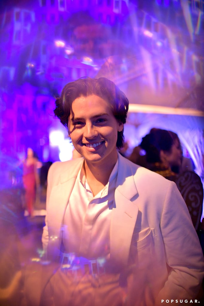 Cole Sprouse at the Vanity Fair Oscars Party 2020