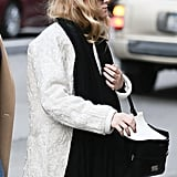 Ashley Olsen strolled in NYC.