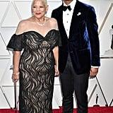 Michael B. Jordan and His Mom at the 2019 Oscars