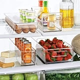 mDesign Refrigerator and Freezer Storage Organizer Bins