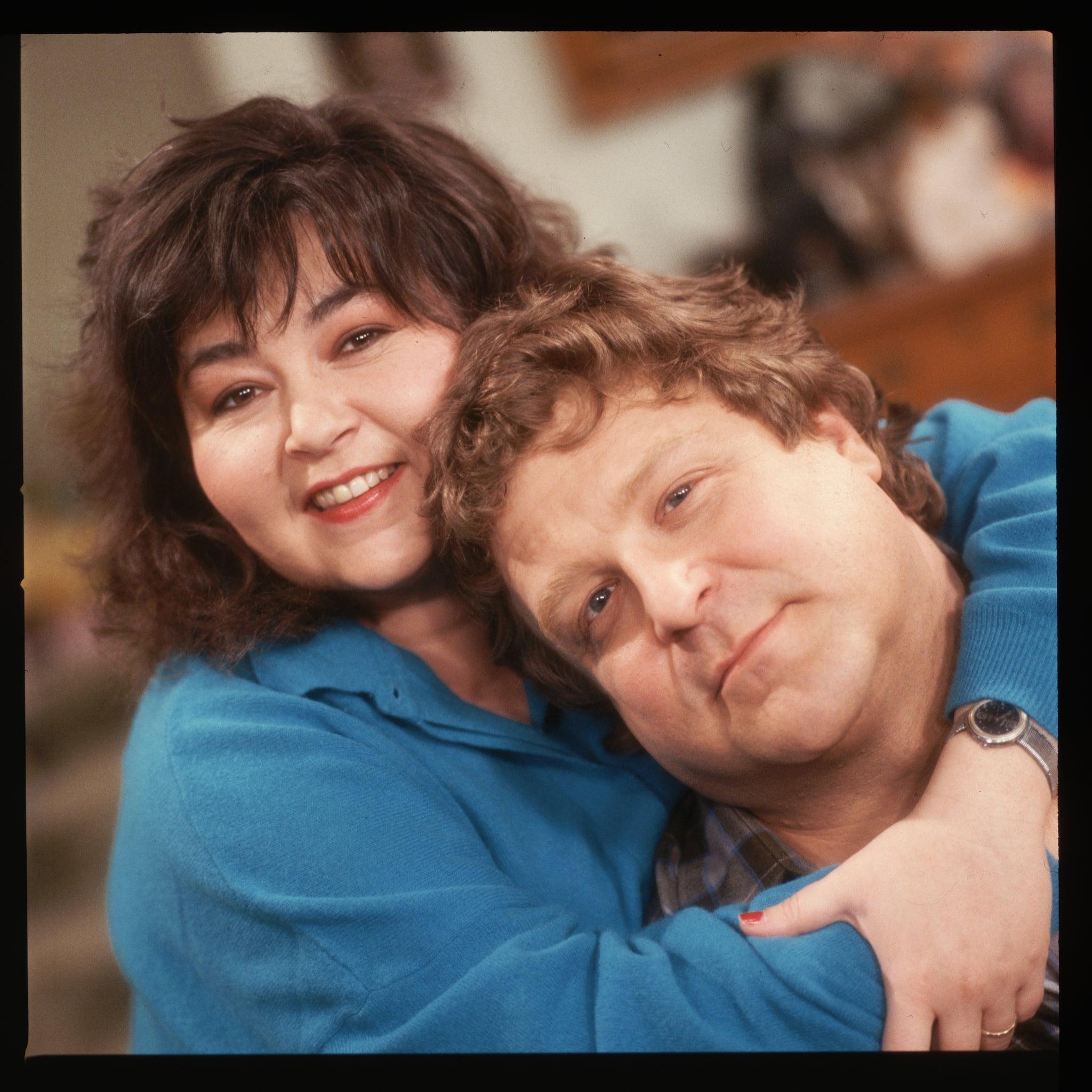 Roseanne and John Goodman   (Photo by Lynn Goldsmith/Corbis/VCG via Getty Images)