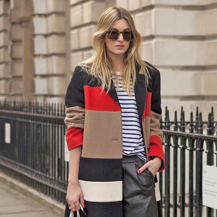Street Style Snaps From London Fashion Week Day Two Popsugar Fashion Australia
