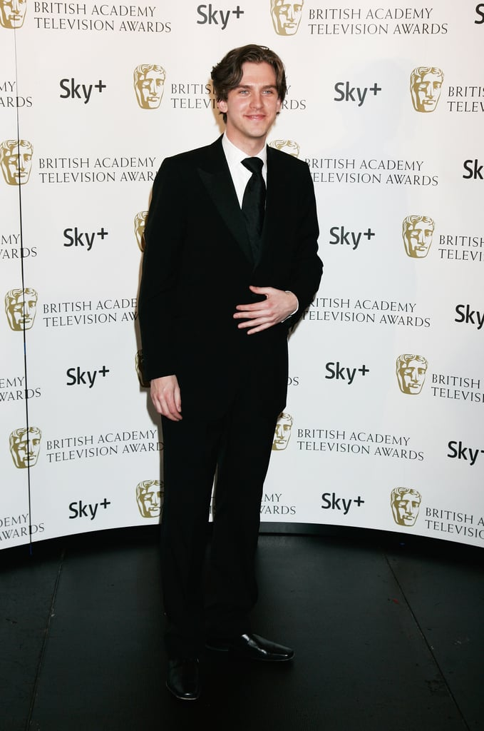 In 2008, he showed off a darker 'do at the BAFTAs.