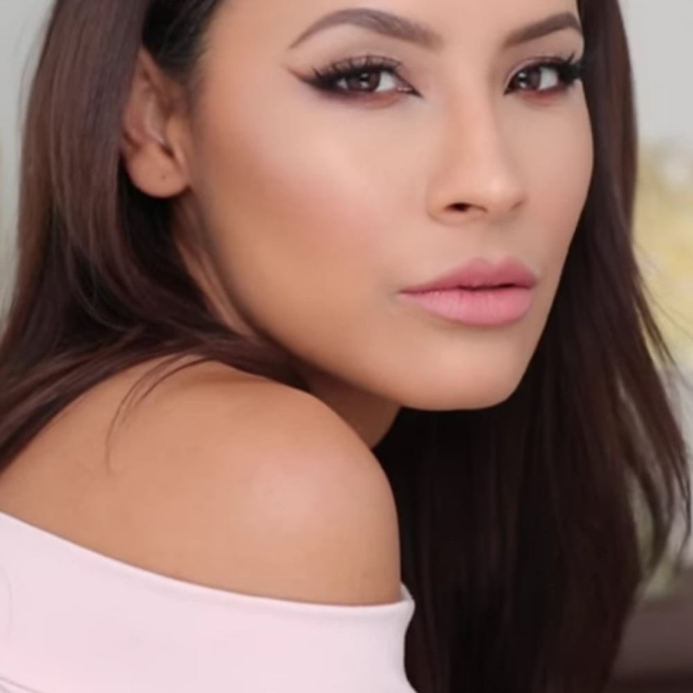 Desi perkinss valentines day makeup tutorial popsugar latina baditri Gallery