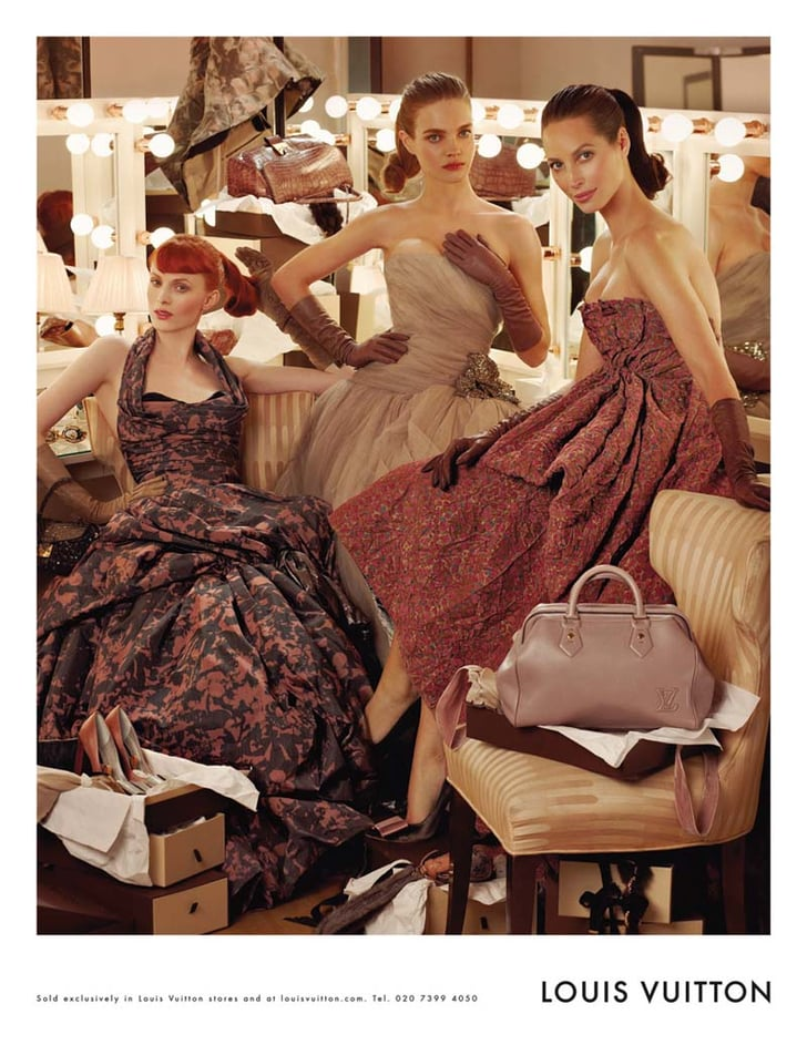 Louis Vuitton 39 S Fall 2010 Campaign Features Three Supermodels Born In Three Different Decades